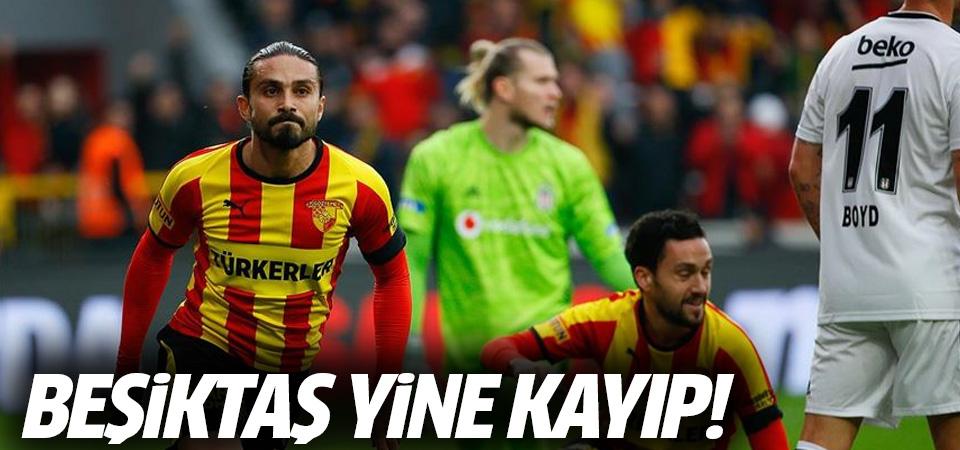 Beşiktaş Göztepe karşısında yine kayıp! 2-1