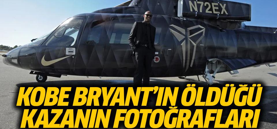 Kobe Bryant'ın öldüğü kazanın fotoğrafları