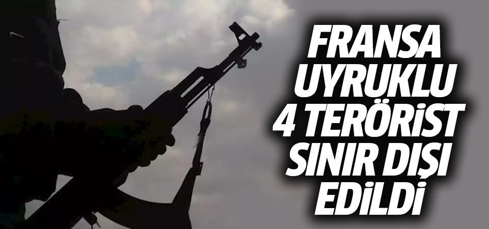 İçişleri Bakanlığı: Fransa uyruklu 4 terörist sınır dışı edildi