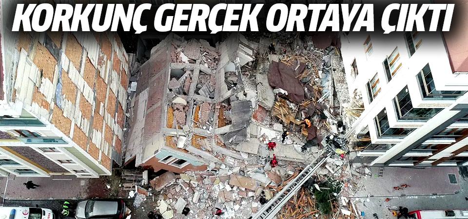 Bahçelievler'de çöken bina neden yıkıldı? Korkunç gerçek ortaya çıktı