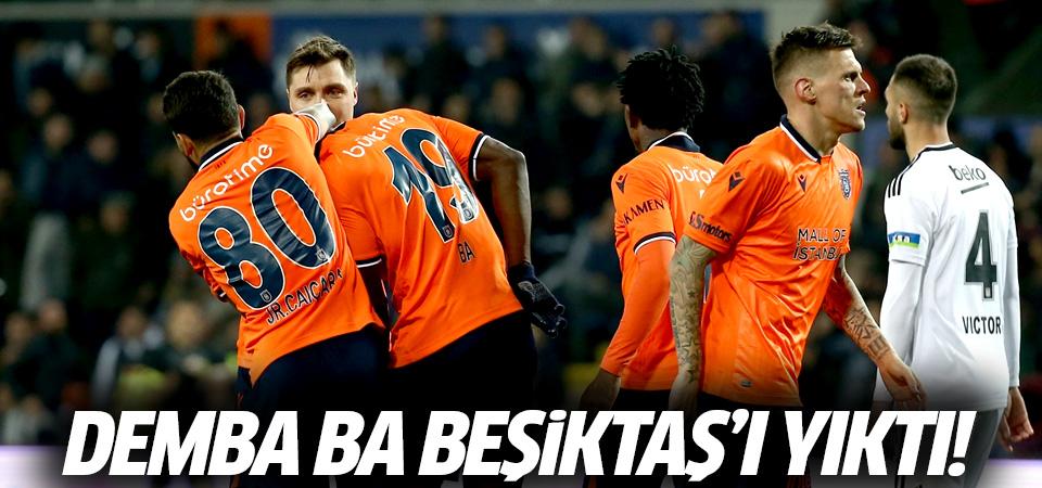 Demba Ba Beşiktaş'ı yıktı! 1-0