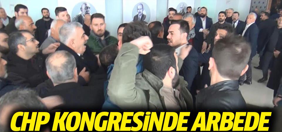 Şanlıurfa'da CHP kongresinde kavga