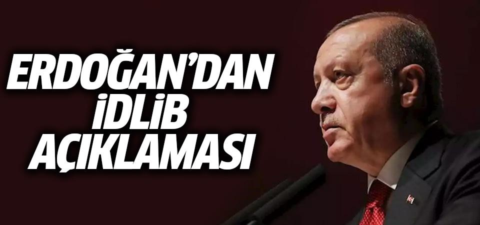 Erdoğan'dan İdlib açıklaması: Sessiz kalmamız mümkün değil