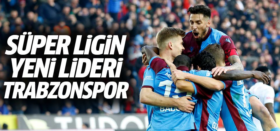 Ligin yeni lideri Sivasspor'u yenen Trabzonspor oldu! 2-1