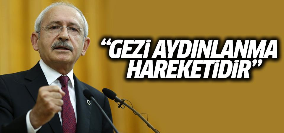 Kılıçdaroğlu: Gezi eylemi aydınlanma hareketidir