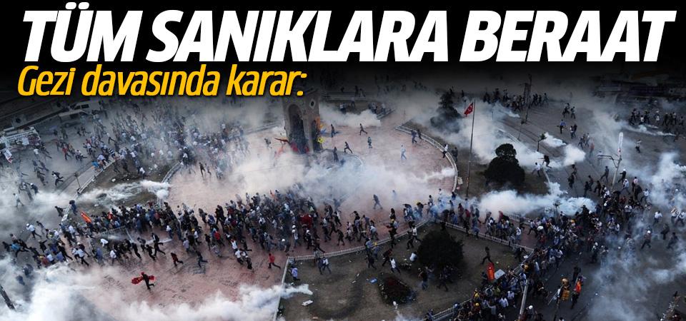 Gezi Parkı davasında karar çıktı
