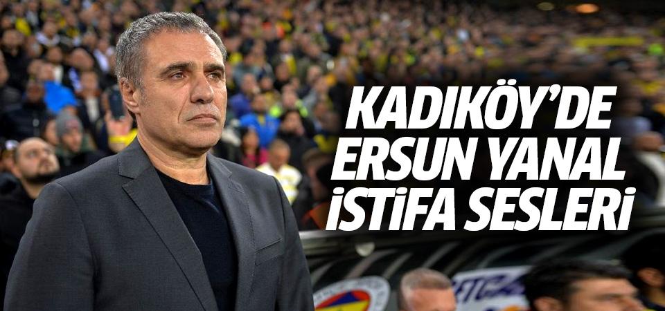 Kadıköy'de Ersun Yanal istifa sesleri