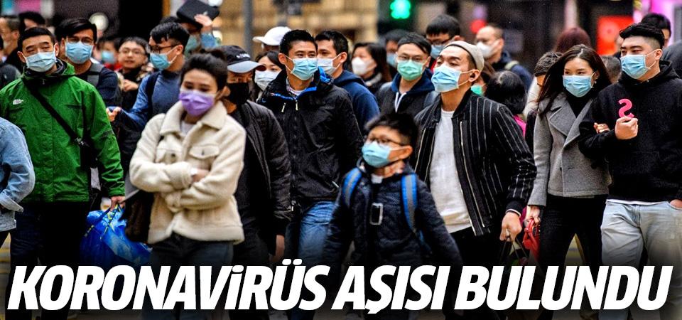 Koronavirüs aşısı bulundu