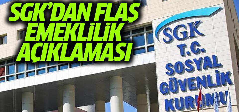 SGK'dan 'emekli maaşında kesinti' haberlerine yalanlama