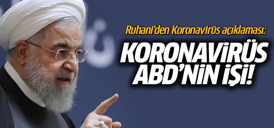 Ruhani: ABD korku virüsü yaymaya çalışıyor