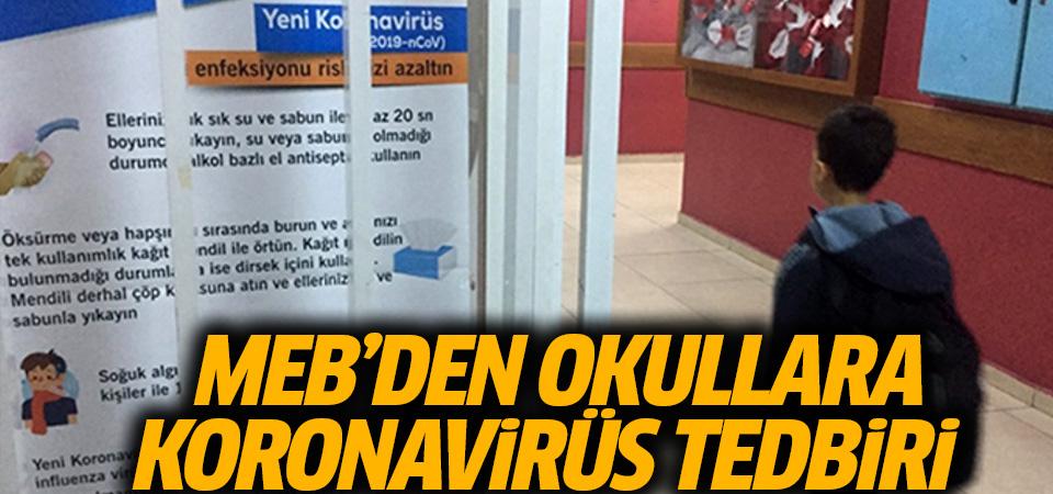 MEB, okullarda uygulanacak koronavirüs tedbirlerini sosyal medyadan paylaştı