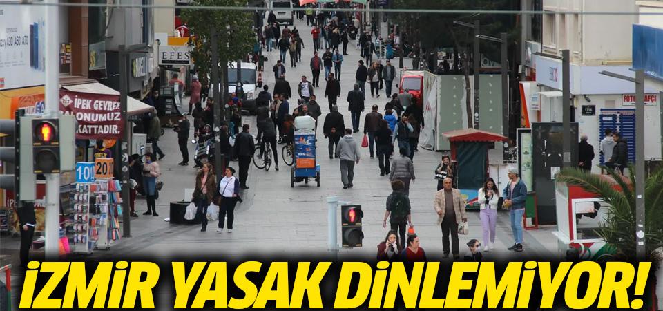 Karşıyaka'daki yoğunluk ürküttü