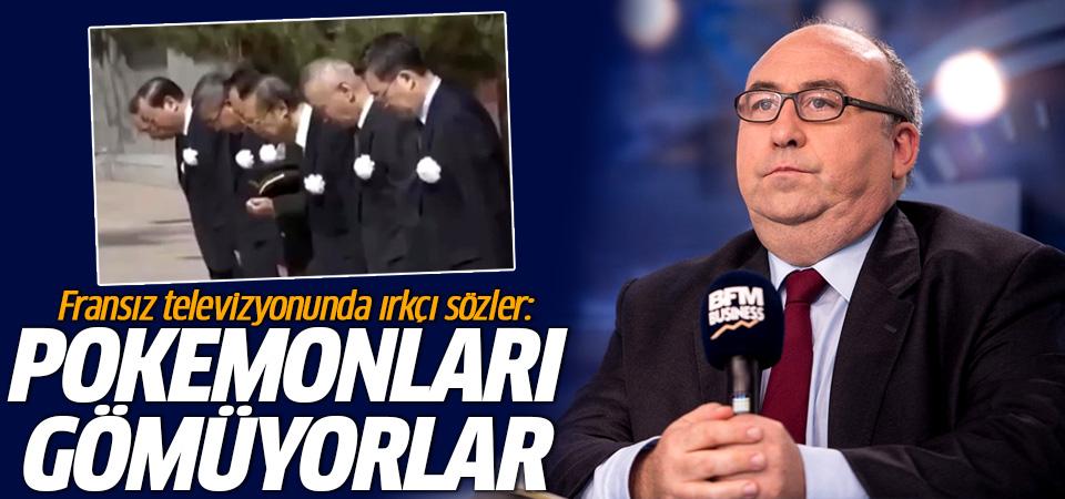 Fransız televizyonunda ırkçı sözler: Pokemonları gömüyorlar!