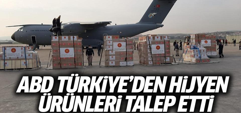 ABD, Türkiye'den hijyen ürünleri talep etti