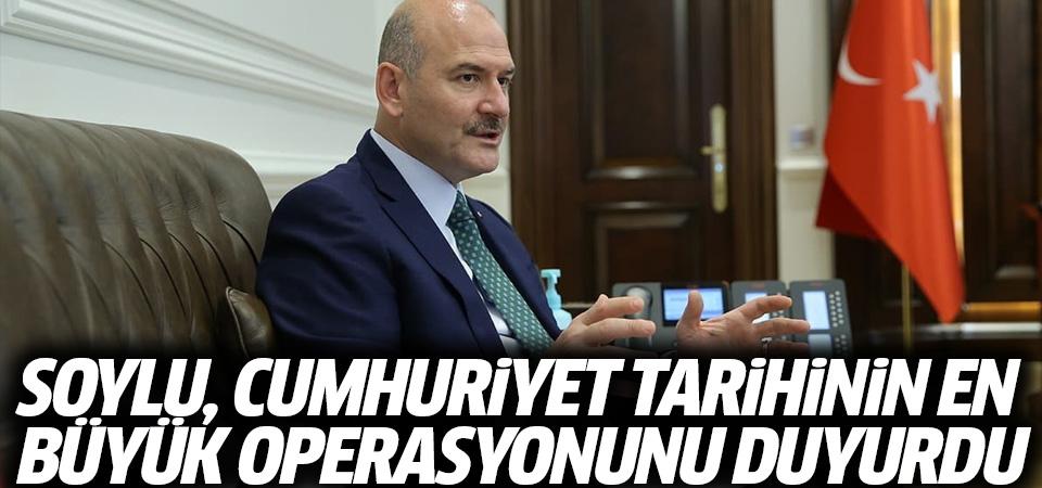 Soylu: Cumhuriyet tarihinin en büyük uyuşturucu operasyonu düzenlendi