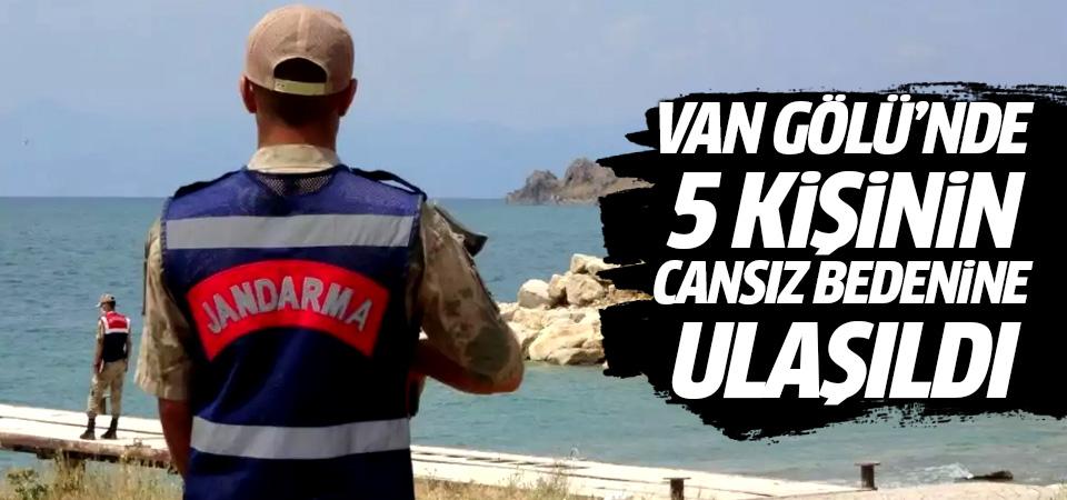 Van Gölü'nde 5 kişinin cansız bedenine ulaşıldı