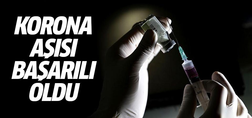Oxford Üniversitesi duyurdu: Korona aşısı başarılı oldu