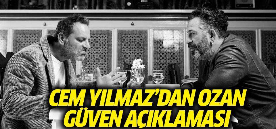 Cem Yılmaz'dan Ozan Güven açıklaması: Çok üzgün olmak dışında bir halim yoktur
