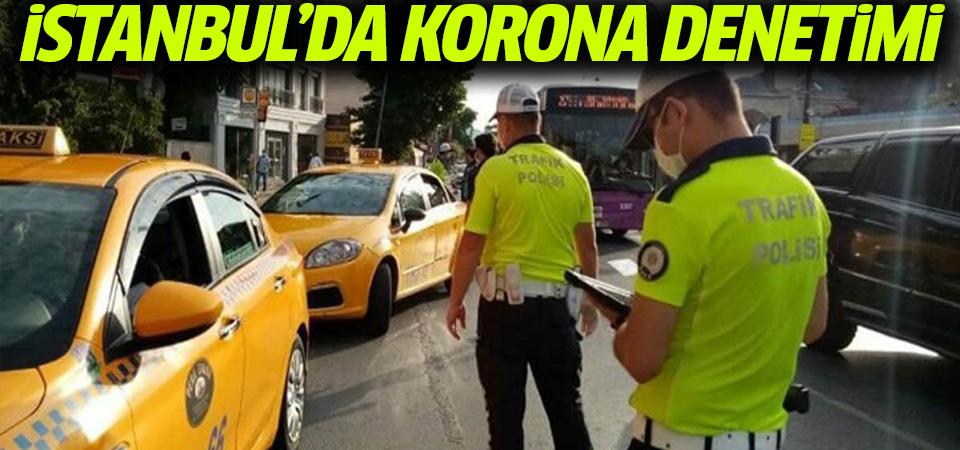 İstanbul'da toplu taşımada koronavirüs denetimi