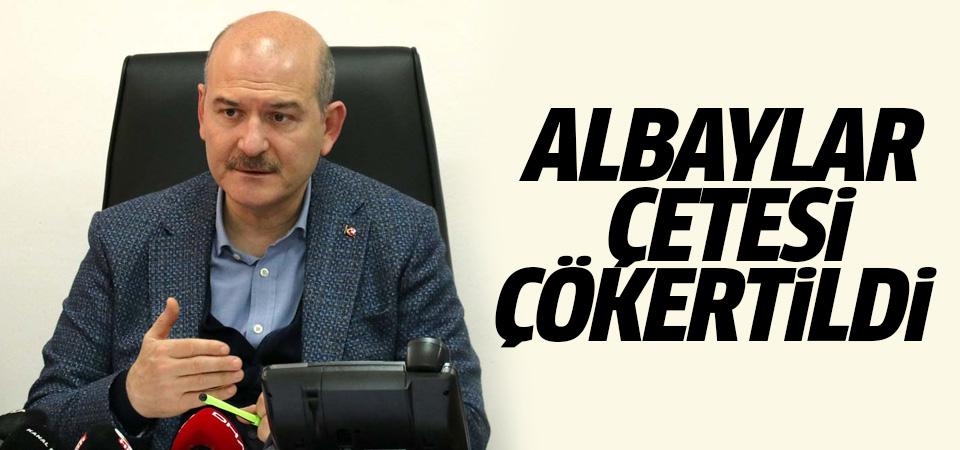 Soylu: Alabaylar Çetesi çökertildi, 59 kişi tutuklandı