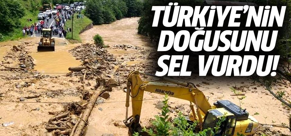 Türkiye'nin doğusunu sel vurdu!