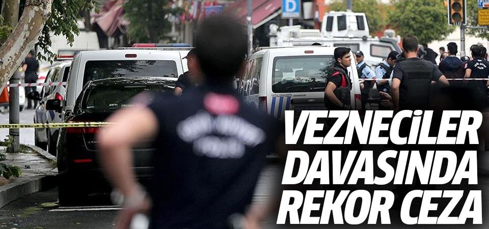 Vezneciler saldırısı davasında rekor ceza