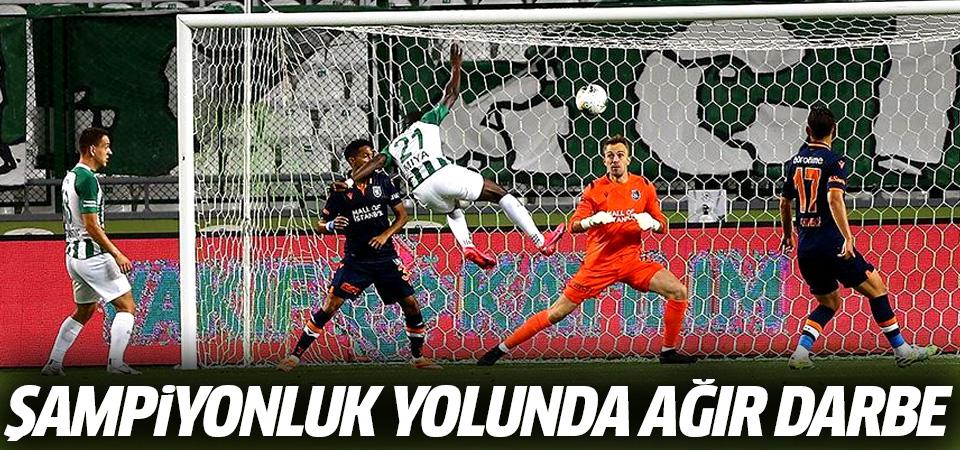 Başakşehir'e şampiyonluk yolunda ağır darbe! 4-3