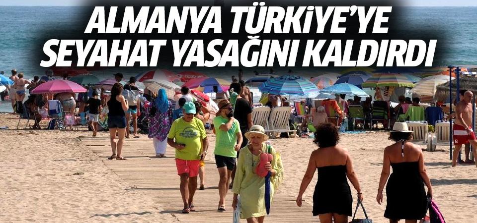 Almanya Türkiye'ye seyahat yasağını kaldırdı