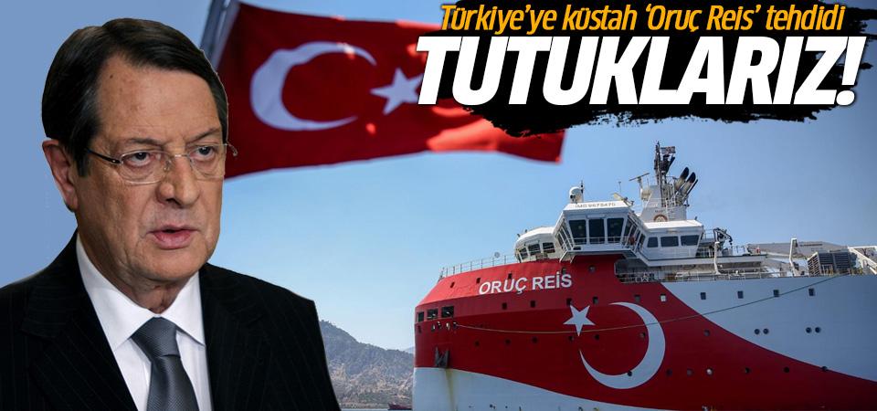 Güney Kıbrıs'tan Türkiye'ye küstah 'Oruç Reis' tehdidi: Tutuklarız!