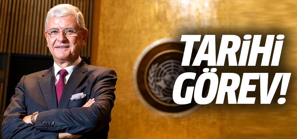 Volkan Bozkır, BM Genel Kurul Başkanlığını devraldı