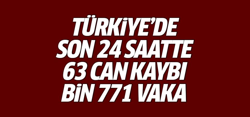 Türkiye'de corona virüsten son 24 saatte 63 can kaybı, bin 771 vaka 16 Eylül 2020