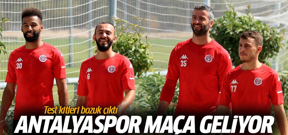 Antalyaspor, Beşiktaş maçına geliyor! Test kitleri bozuk çıktı