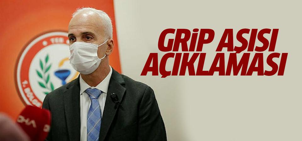 İstanbul Eczacı Odası Başkanı Sarıalioğlu'dan grip aşısı açıklaması