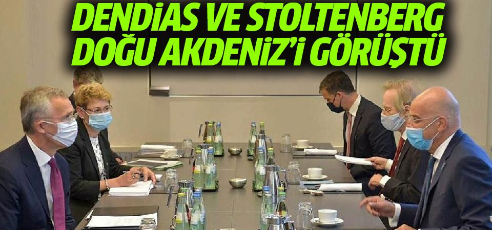 Dendias ve Stoltenberg, Doğu Akdeniz'i konuştu
