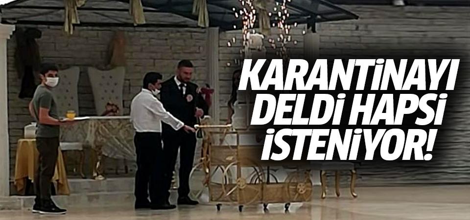 Bursa'da karantinayı deldi hapsi isteniyor