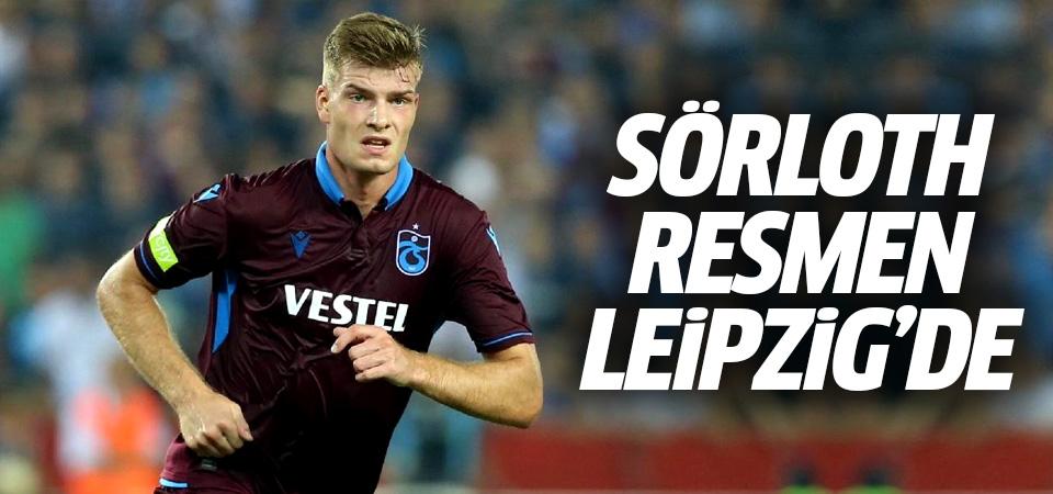 Alexander Sörloth resmen Leipzig'de