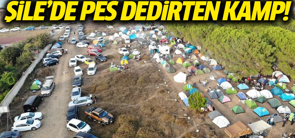 Şile'de koronavirüs tedbirlerini hiçe saydılar: 2 bin kişilik festivalde halay çektiler