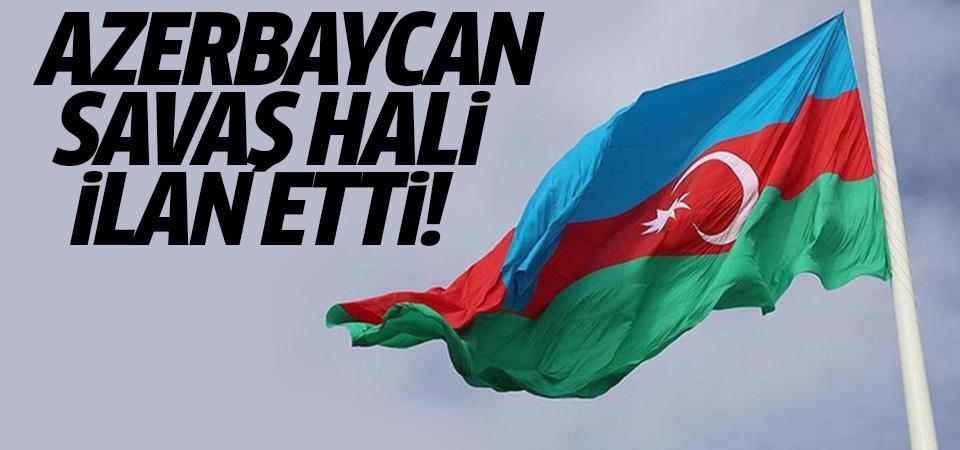 Azerbaycan Parlamentosu, ülkede savaş hali ilan edilmesi kararı aldı