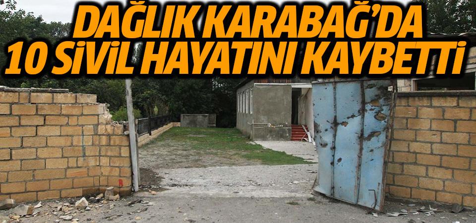 Azerbaycan: Dağlık Karabağ'da 10 sivil hayatını kaybetti