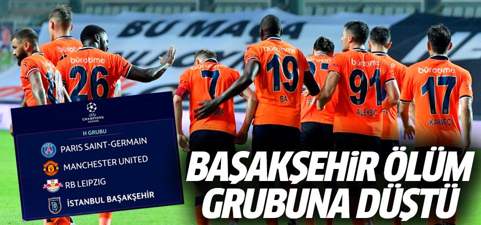 Ölüm grubuna düştü! Başakşehir'in Şampiyonlar Ligi'ndeki rakipleri belli oldu
