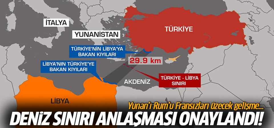 Yunanistan'a Doğu Akdeniz'de büyük şok: Türkiye-Libya anlaşmasını tescil etti
