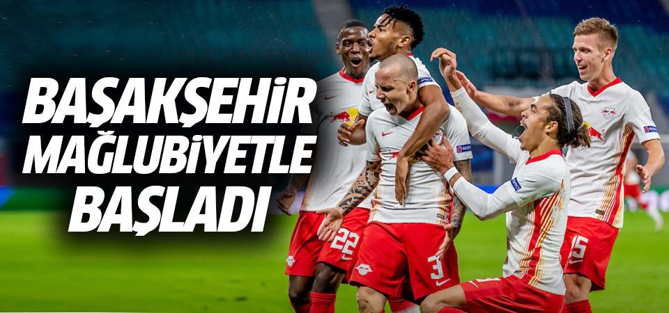 Başakşehir Şampiyonlar Ligi'ne mağlubiyetle başladı! 2-0