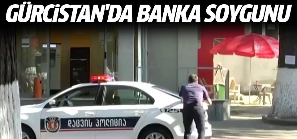 Gürcistan'da banka soygunu: Çok sayıda rehine var