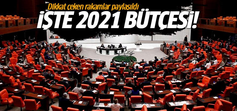 2021 bütçe rakamları açıklandı