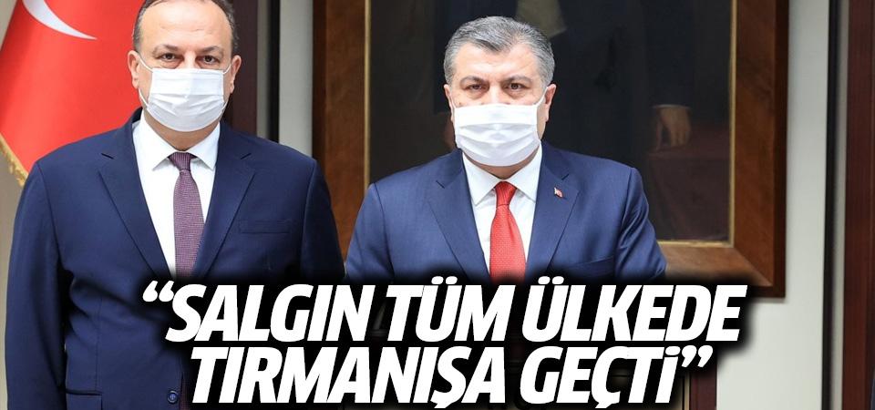 Sağlık Bakanı Koca: Salgın tırmanışa geçti, Bursa en kritik günlerini yaşıyor