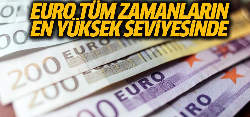 Euro/TL rekor güncelledi: Tüm zamanların en yüksek seviyesinde