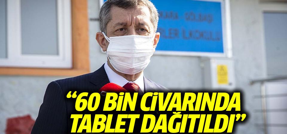 Selçuk: 60 bin civarında tablet dağıtıldı