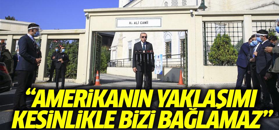 Erdoğan: S-400 testleri yapıldı, Amerika'nın yaklaşımı bizi bağlamaz