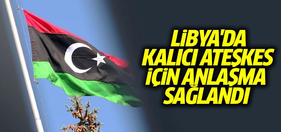 BM: Libya'da taraflar kalıcı ateşkes anlaşması imzaladı