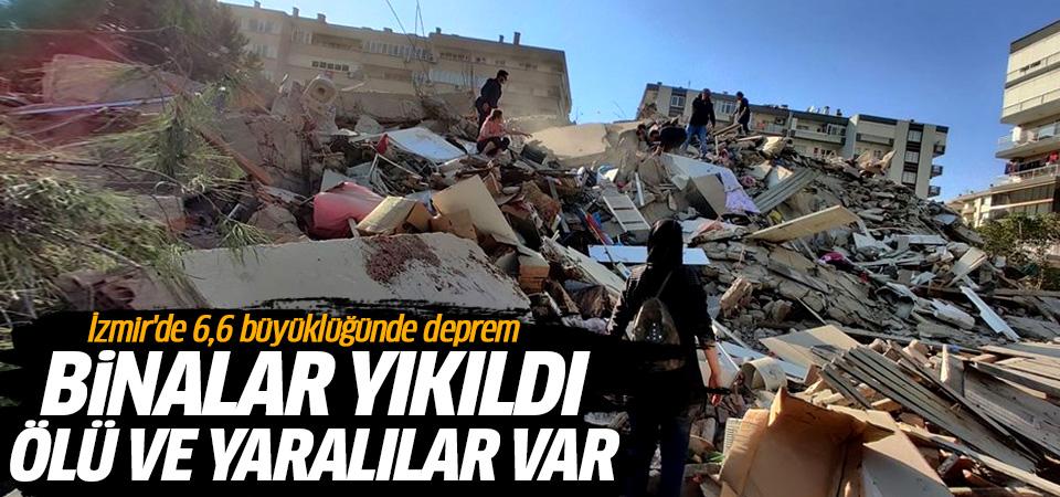 İzmir'de 6,6 büyüklüğünde deprem: 21 can kaybı, 804 yaralı